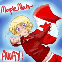 MAPLE MAN- AWAY! by CanadaReacts