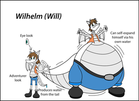 NEW CHARACTER- Wilhelm (Will) by dantiscus