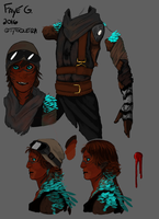 Faye 2016 Concept Sheet 1 by Tytoquetra