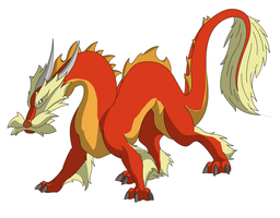 OPEN- Chinese Dragon Adoptable by Zari-Adoptables