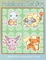 Derp Pokemon Set - 03 by Apeliotus