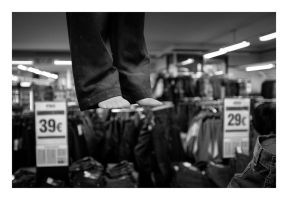 Suicide in the jeans store by wchild