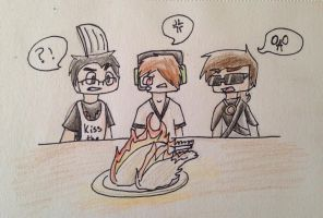 Drawing Challenge 136: Happy Thanksgiving!! by hayy1