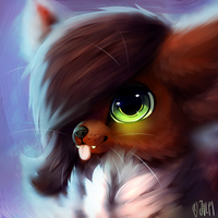 Tawnykit Headshot by Jupecat