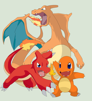 Pokemon Base 26~Charmander Evolution~ by Xbox-DS-Gameboy