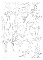 Everfree Trees Concept 1 by Shade-os