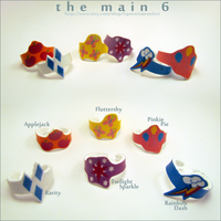 The Main 6 Rings by sterlingsilver