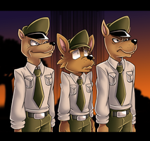 Harry and the Dingo Regime by J-icha by LazyRayFinkle