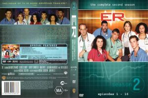 ER Season 2 Part 1 DVD Cover by NYC55david