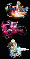Anime Colors by IsabellaxParadise