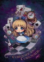 Alice in Wonderland Chibi by StarMasayume