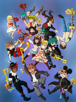 My KH Friends by Kubalub
