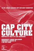 Cap City Culture poster by kenji2030