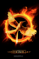 Mockingjay Poster (Fanmade) by Pixel-Candy