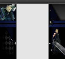 Free Cloud Strife 3.0 Layout by Khorlana