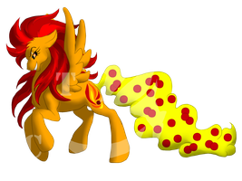 CandyTail Pony: Atomic Freefall by AmzyTheChangeling