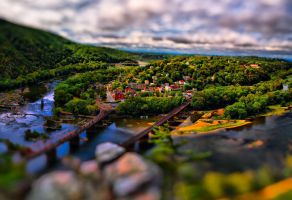 Harpers Ferry Tilt Shift 1 by CharlesWb