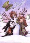 ACEO - X-mas Special 2nd Card by demiveemon