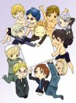 Hetalia and Free! by singingpterodactyl