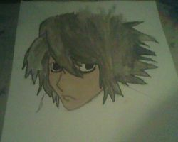 Death note L  Lawliet by monkee426