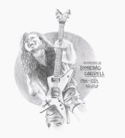 in memory of dimebag darrell by gnubby