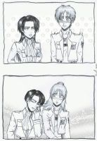 Eren and Levi genderbender by NihonOaisuru