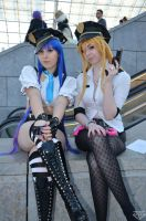 Panty and Stocking by BlueBlackDiamond