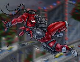 Crimsonblade out and about by ZipDraw