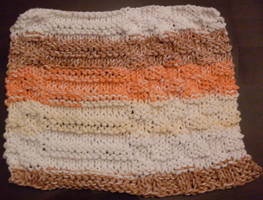 A New Homemade Dish Cloth by tabby25