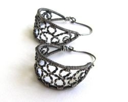 sterling silver hoops by annie-jewelry