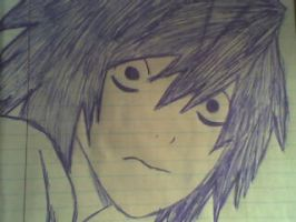 Death note-- L Lawliet by KDElive