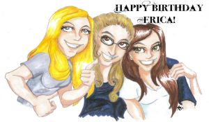 Happy birthday erica by Silver-the-kid