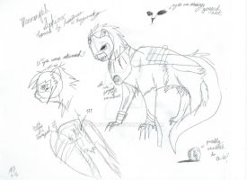 Mummified Sphinx (concept sketch) by Alley-san