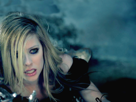 Avril Lavigne - Alice III Wall by MartyPunk13