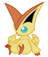 Art Request: Victini by Ayinai