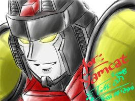 Starscream Armada for YamCat by Tc-Chan