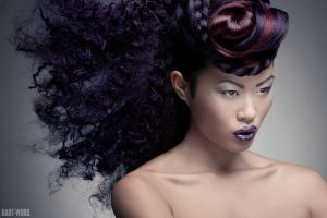 asian beauty with movie by Hart-Worx