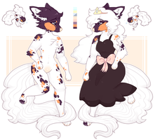 CLOSED l Anthro Koi Queen Auction by Sno-berry