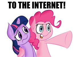 To the Internet MLP by Gcrebel