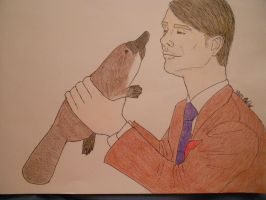 AT: Hanni and the Platy by BubblyPunkBitch