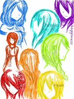 It's a Rainbow of Emotions out there~ by Reynn13