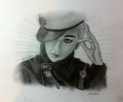 BIG BANG - G Dragon by Autumn-Aries