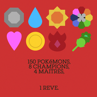 Minimal Game Posters - Pokemon Red Version (Back) by Waddle-Moogle