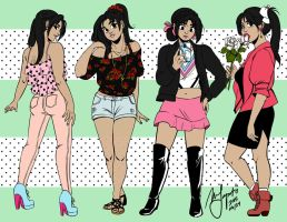 Motorcity: Fashion Set 01 by Rice-Lily