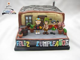 Chaves Cake by The-Nonexistent