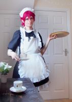Free! - Maid Rin by DeadPhantoms
