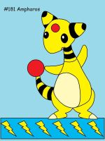 Ampharos by Catherinex13