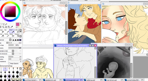 Some WIPs rn by maybelletea