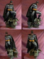 Batman 1/5 scale statue cloth cape. by Leebea