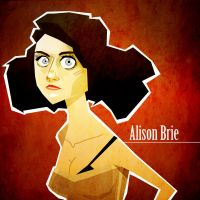 Alison Brie by Tlenon